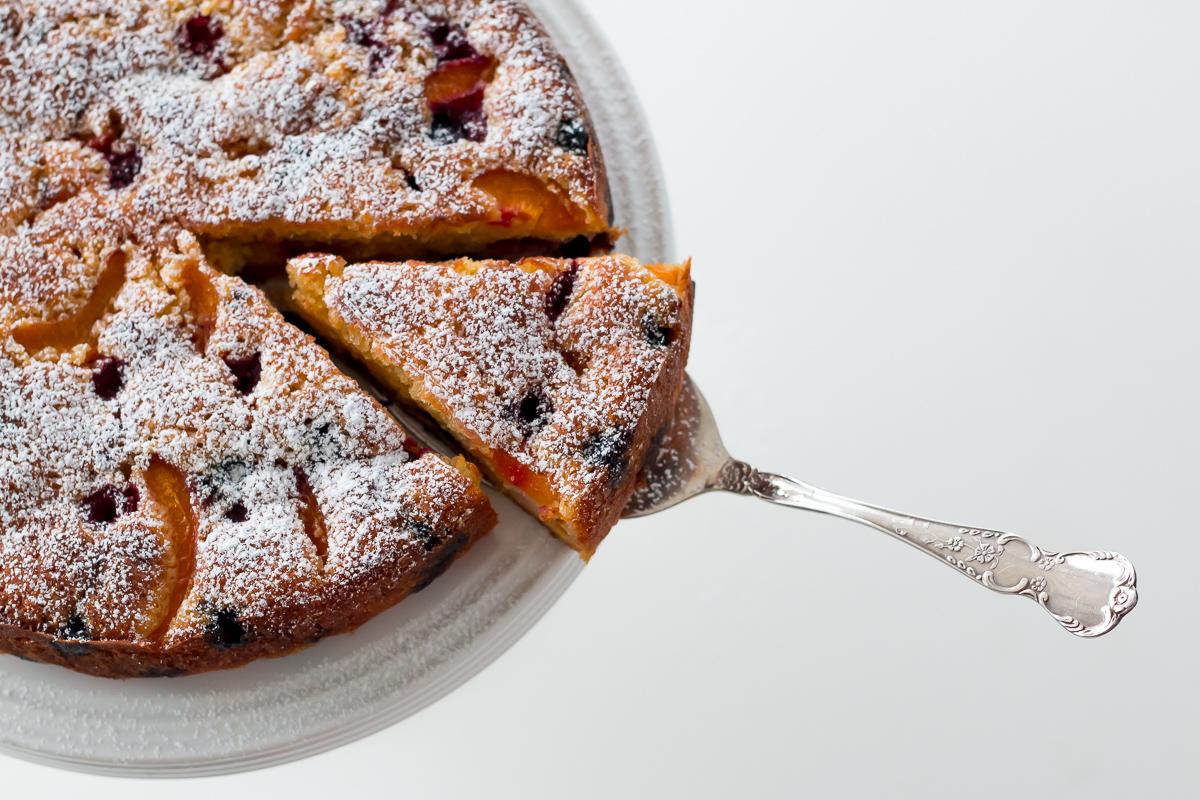Summer Fruit Cake The Brick Kitchen