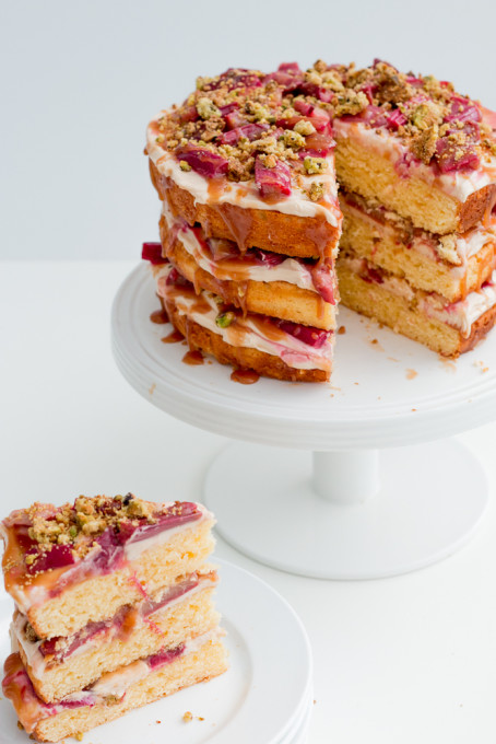 Caramel Cream Layer Cake Recipe — Dishmaps