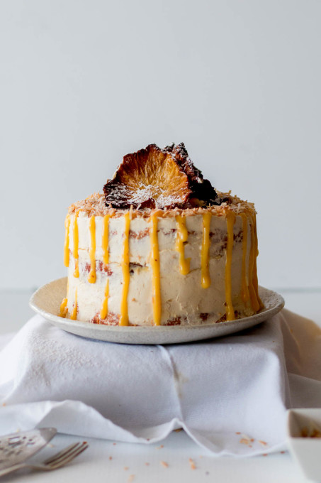 ... Free Pineapple Coconut Cake with Passionfruit Curd - The Brick Kitchen