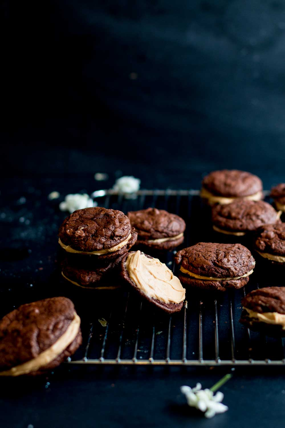 Chocolate & Whipped Salted Caramel Brownie Cookies - The ...
